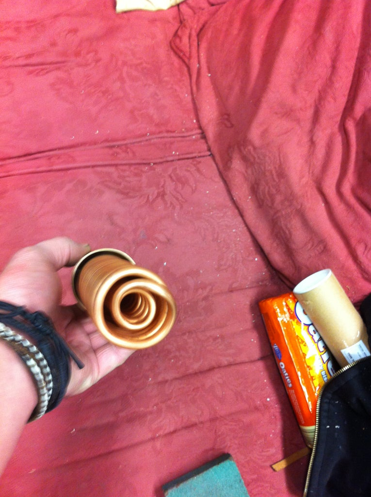 Preparing the End Cap and Attaching the Coil