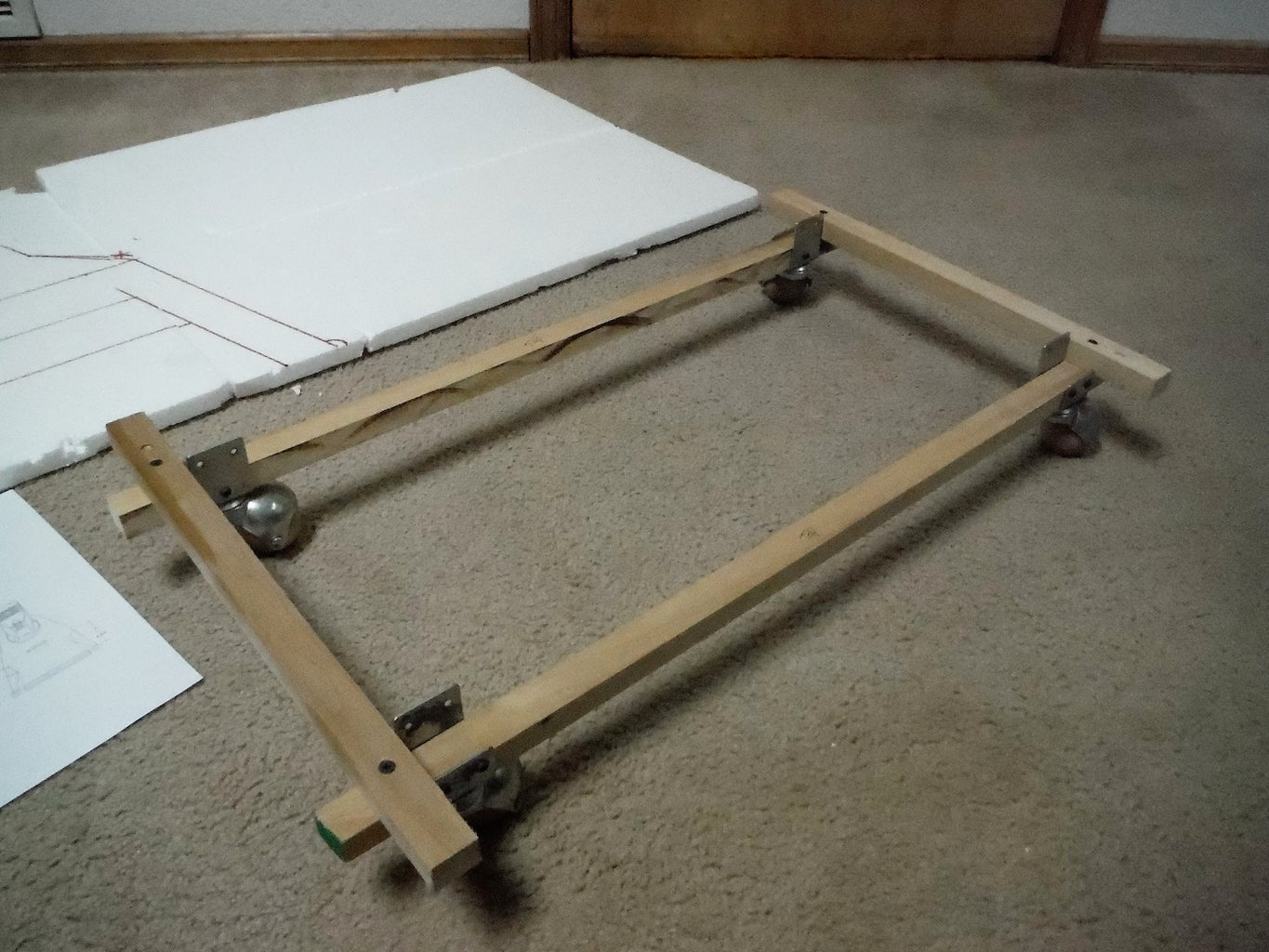 Plans and Frame