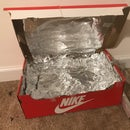 Solar Cooker Using Tinfoil and Shoebox!