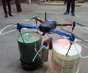 Quadcopter Spray Can Mod
