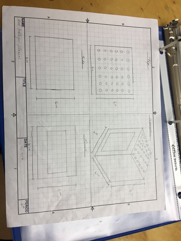 Step 4: Isometric Drawing