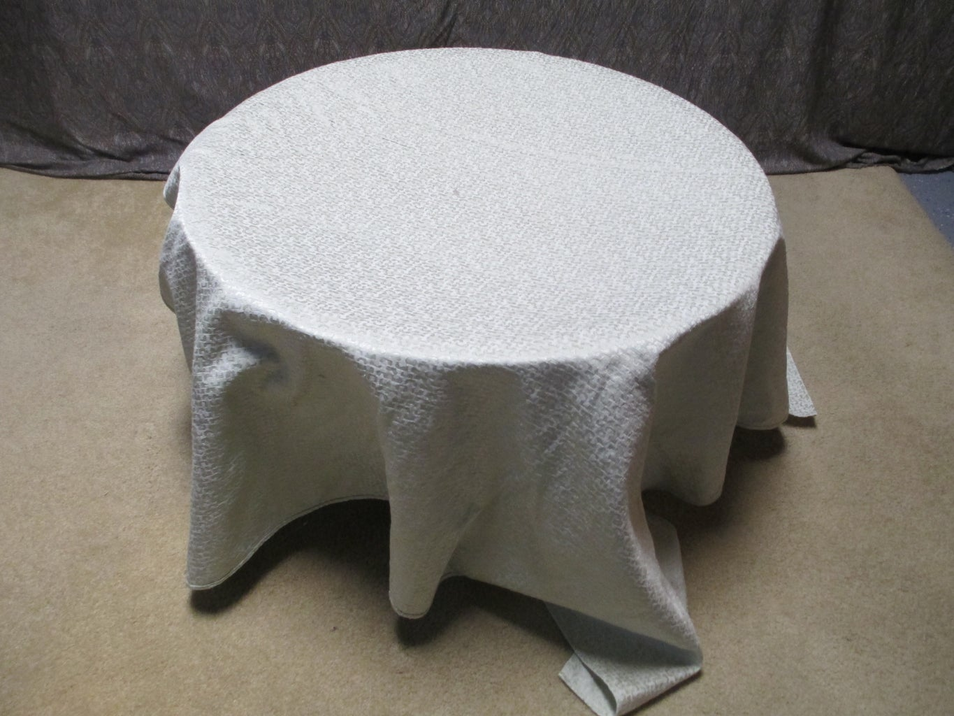 Place a Large Piece of Fabric Over the Top.