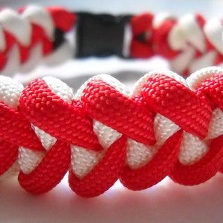 Piranha Tooth Paracord Bracelet