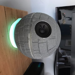 The Alex-Star: Speaker/Enclosure for the Echo Dot