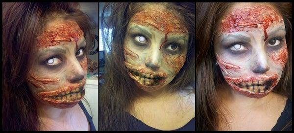 Zombie Halloween Makeup!
