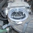 Acrylic air intake baffle plug
