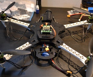 An SK450 Dead Cat Quadcopter to Call Your Own