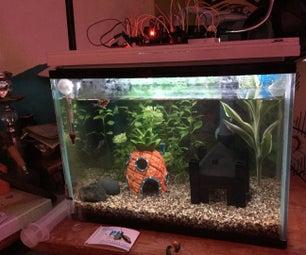 Arduino - Digital Clock With Aquarium RGB Light Control