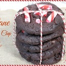 Candy Cane Double Chocolate Chip Cookies (YUMMY VEGAN)