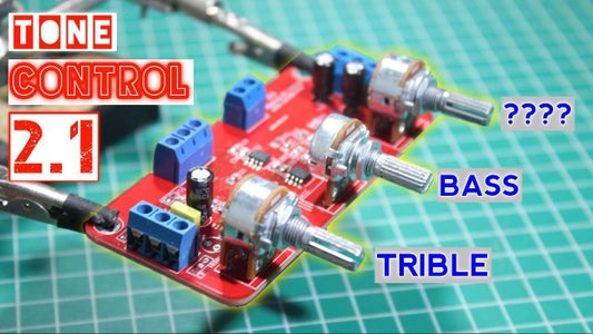 How to Make a Tone Control LM358 for Amplifier 2.1