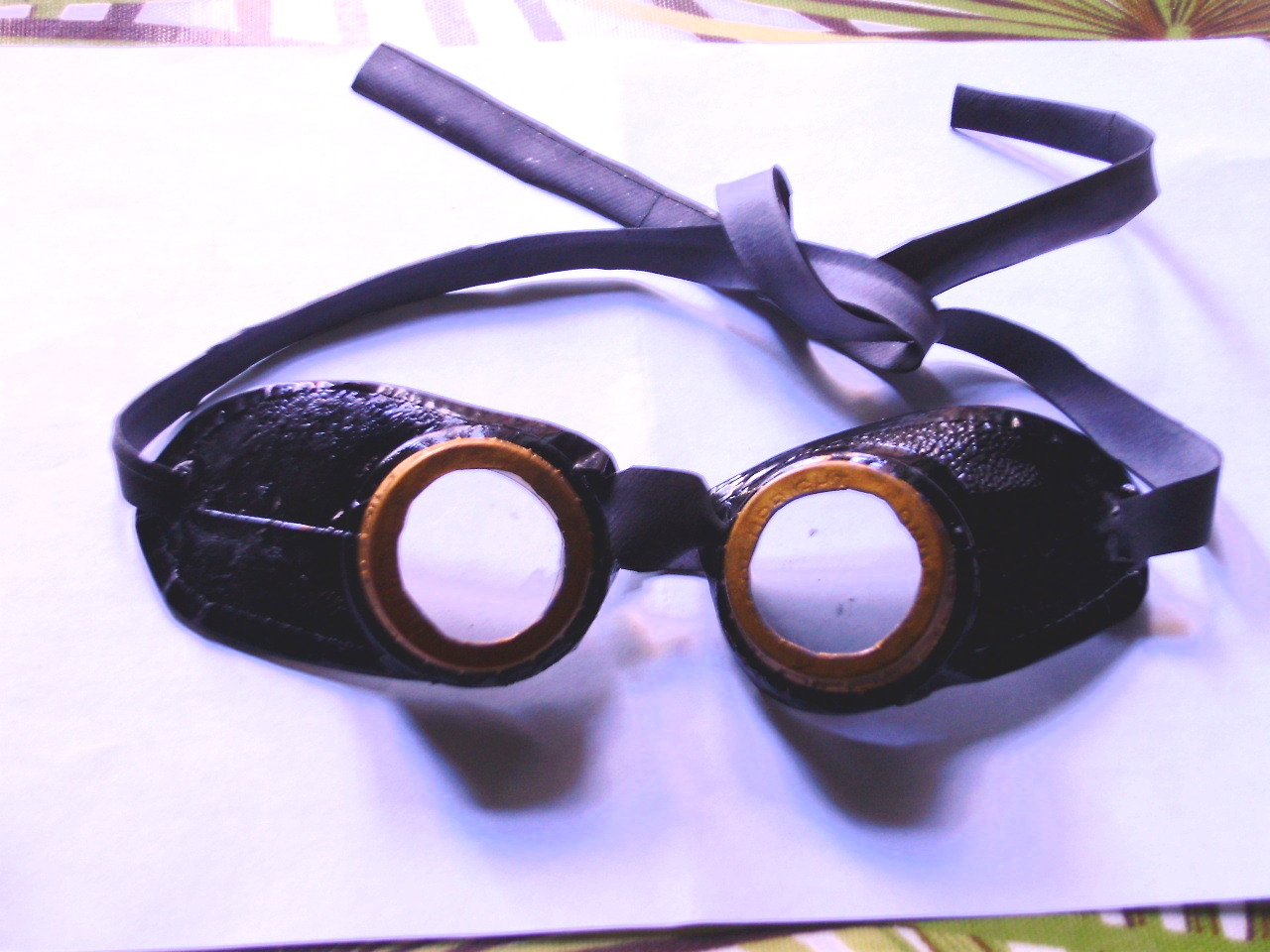 Make realistic Steampunk Airship Goggles