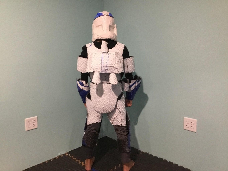 Star Wars Clone Trooper Suit