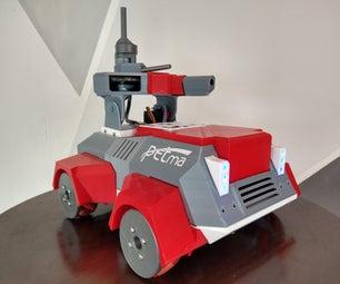 自主机器人防御系统