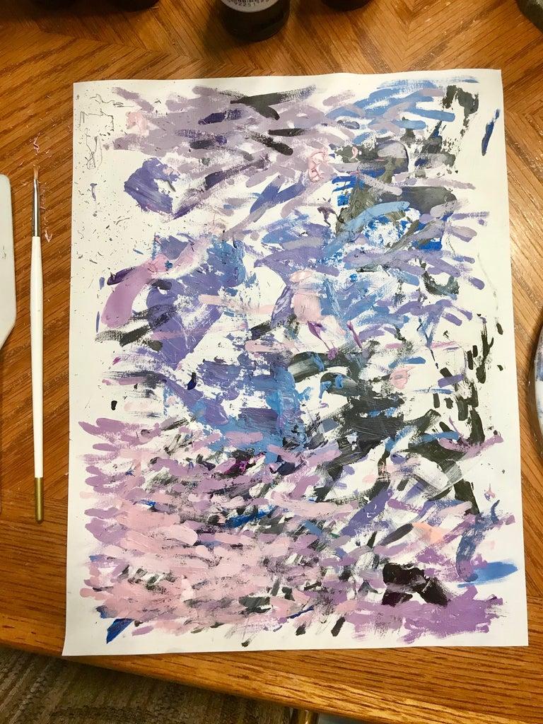 Begin Painting – Layering & Clean Lines