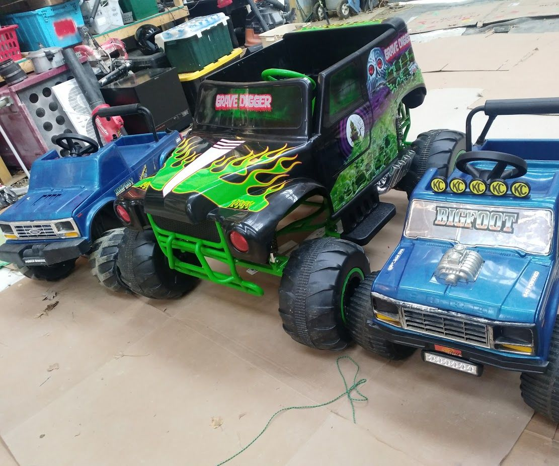 Battery Upgrade For 24v Grave Digger Power Wheels 5 Steps With Pictures Instructables