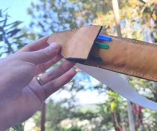 如何制作皮革笔案 - 使用视频和图片的教程 - 免费PDF模式