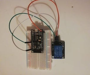 Controlling a Relay From Your Phone Using Blynk