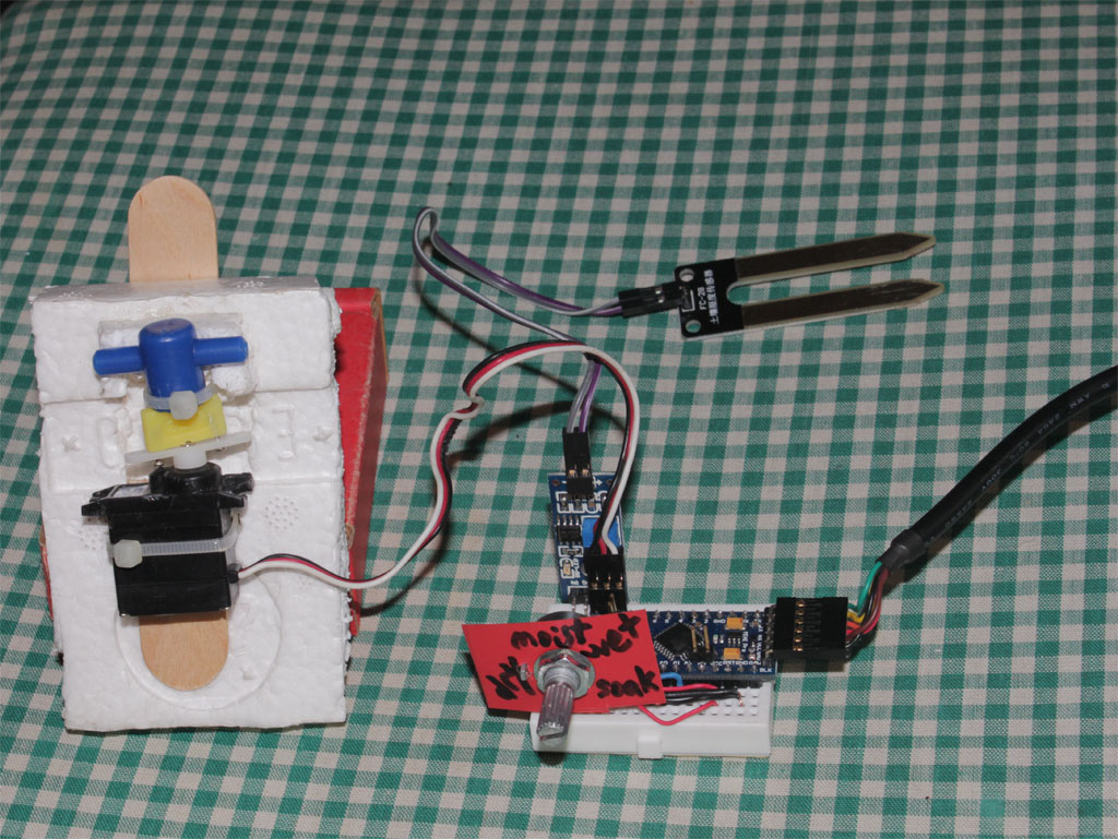 Intelligent watering system with arduino...