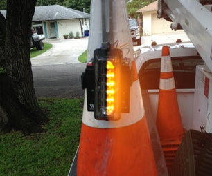 Safety Cone Strobe