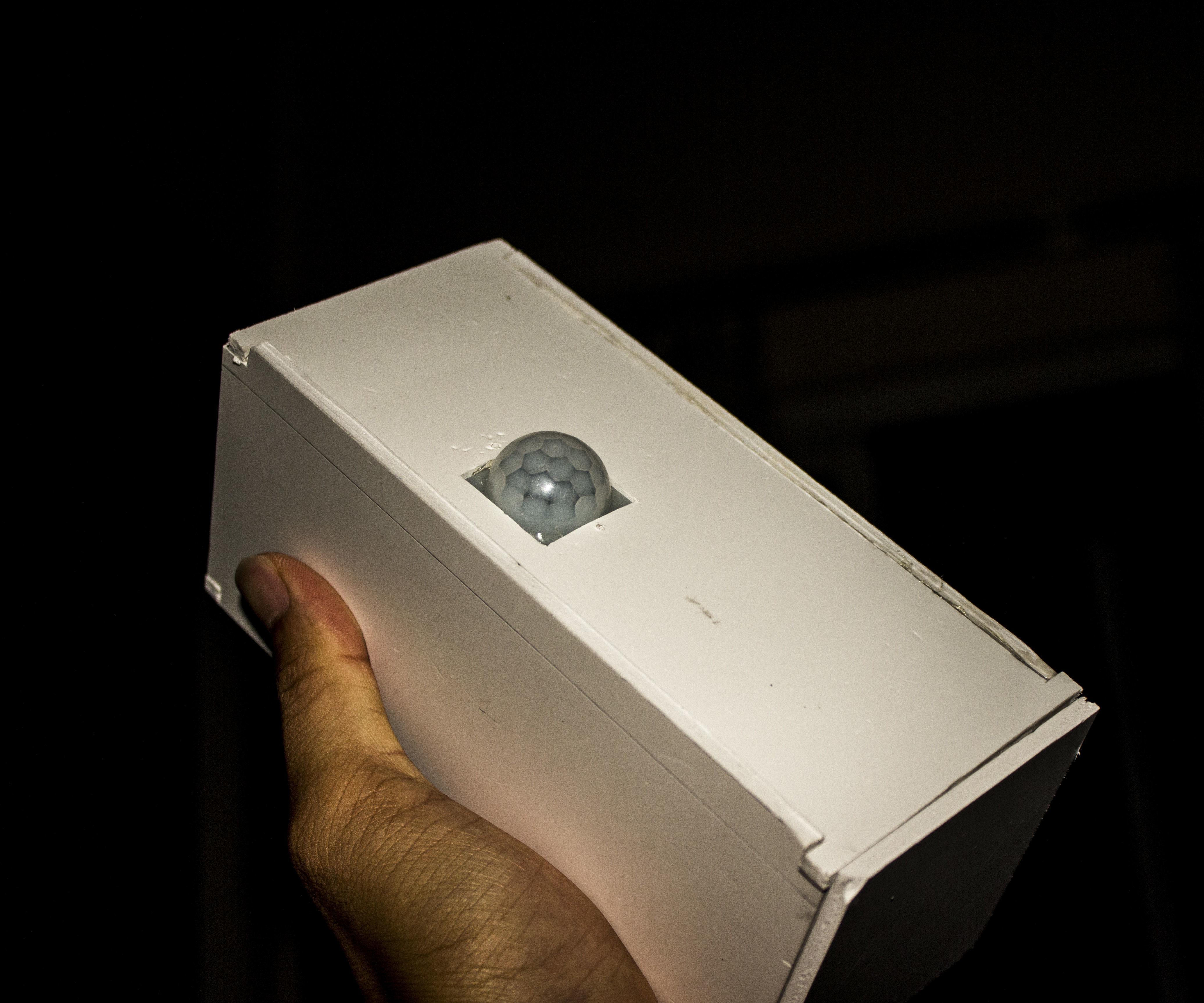 Portable motion sensor module
