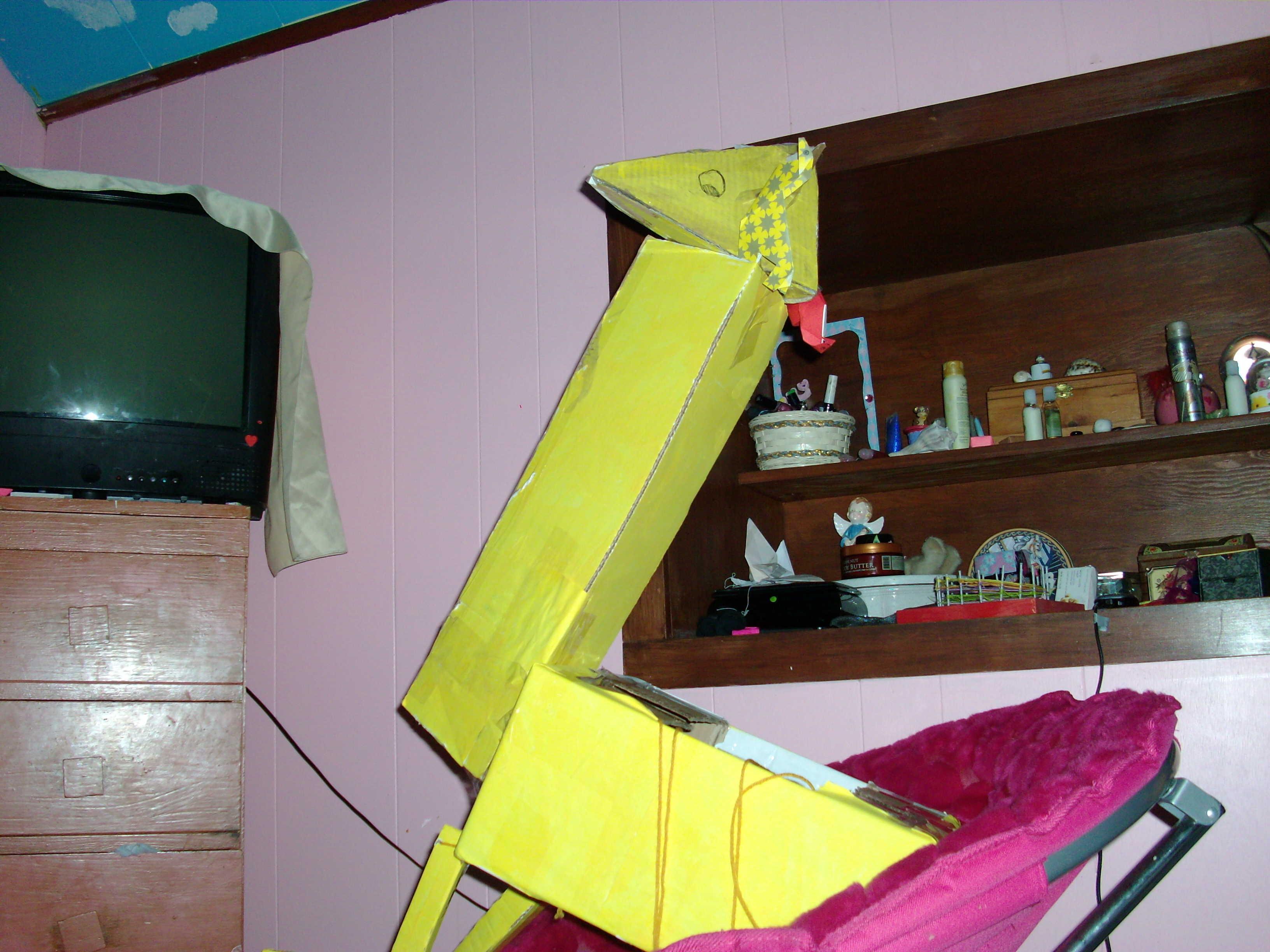 My Cardboard Giraffe