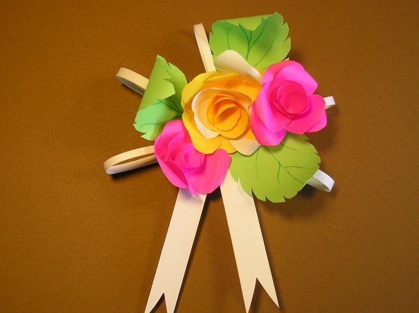"""How to Make """"Post It Notes"""" Roses"""