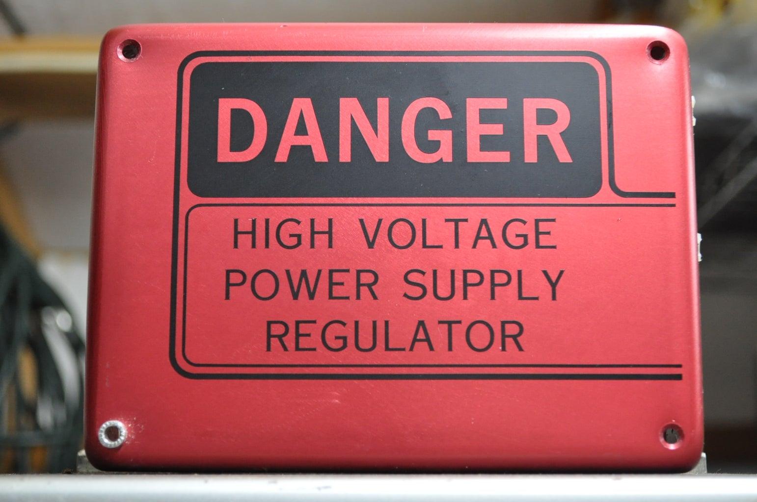 Tools, Supplies, Warnings, and DANGER