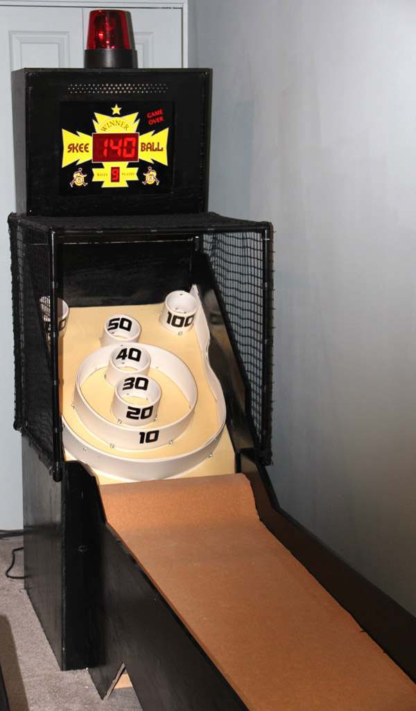 Mini Futuristic Skee Ball (Phase 1)