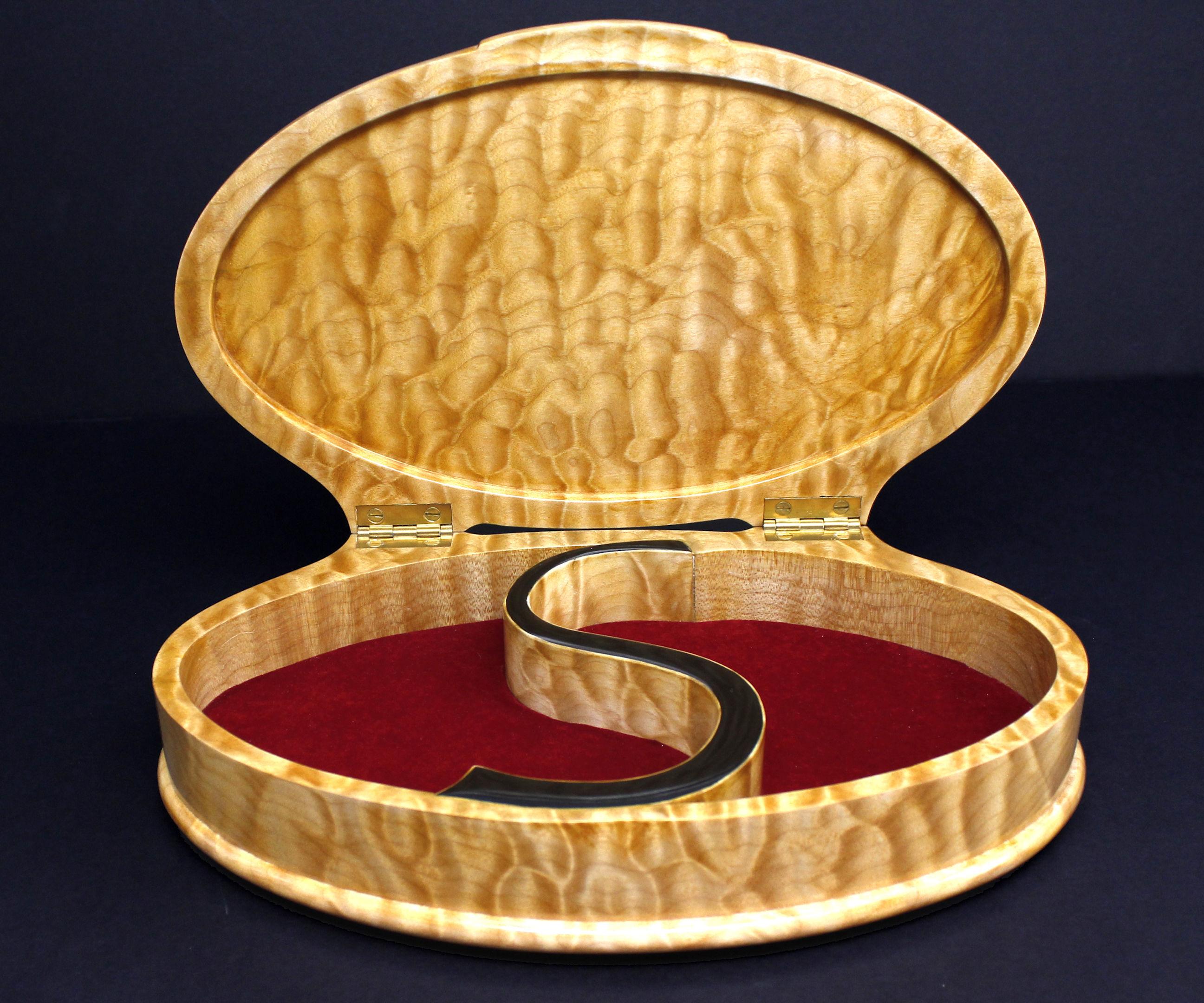Hybrid Bandsaw Box - Custom Jewelry Box