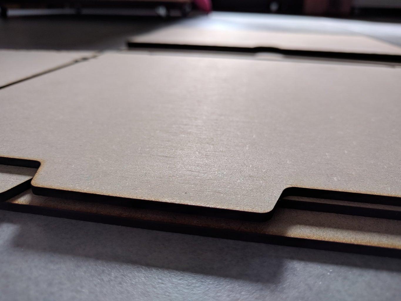 Lasercutting - Wooden Design Phase Plates