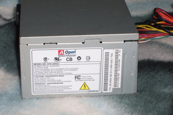 Take a Look Inside a ATX Computer Power Supply