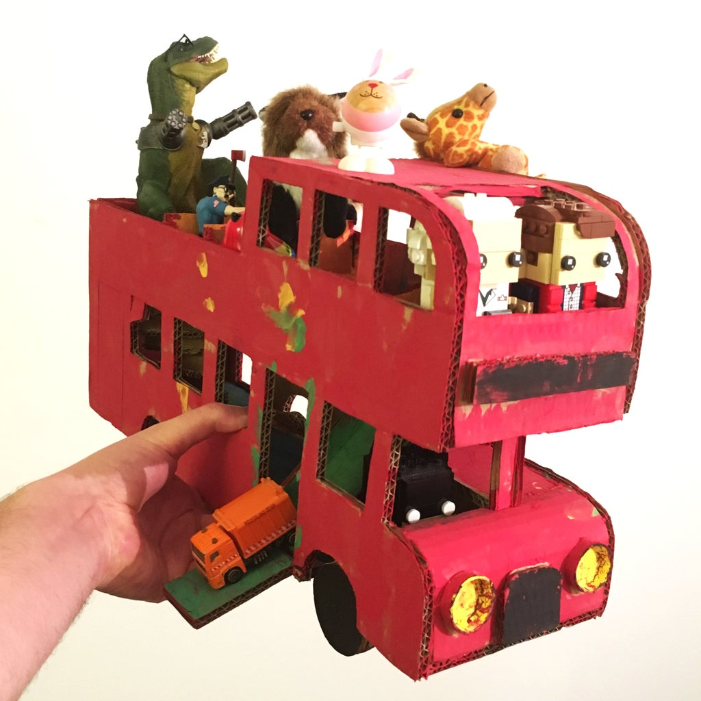 All Aboard! Animals, Toys, Cars...