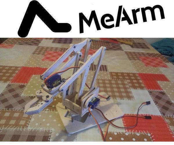 Hand-Made MeArm