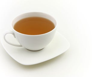 Clean and Shinning Glass Windows With Tea