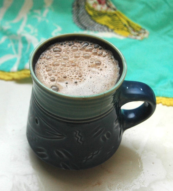 Dairy-free, Chocolate-free Hot Cocoa