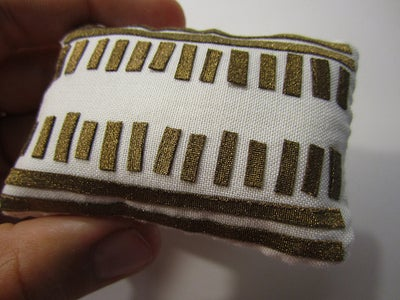 Sew the Cushion Together