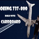 Boeing 737-800 Build Out of CARDBOARD
