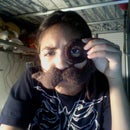Classy Brown Mustache&Monocle