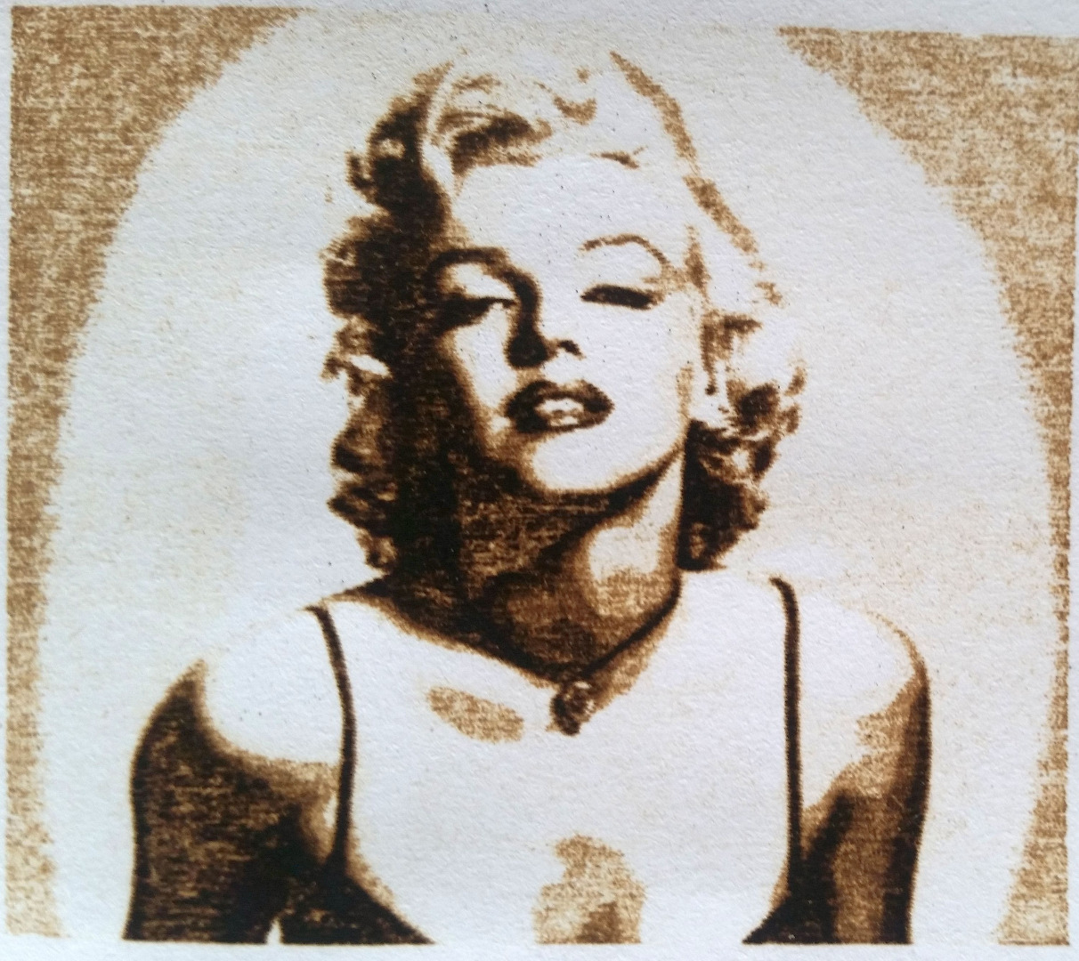 Monroe on paper