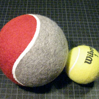 DIY Giant Tennis Ball