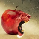 Toothy Apple | Photoshop |