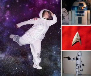 DIY Space Halloween Costumes