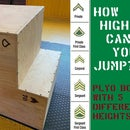 Plyometric Box With 5 Different Heights!