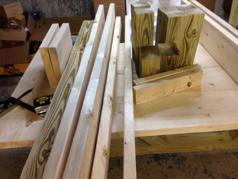 Step 1: Cut the Wood