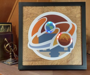 Mars 2020 Clock