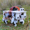 3D Printed Arduino Powered Quadruped Robot