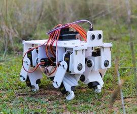 3D Printed Arduino Powered Quadruped Robot