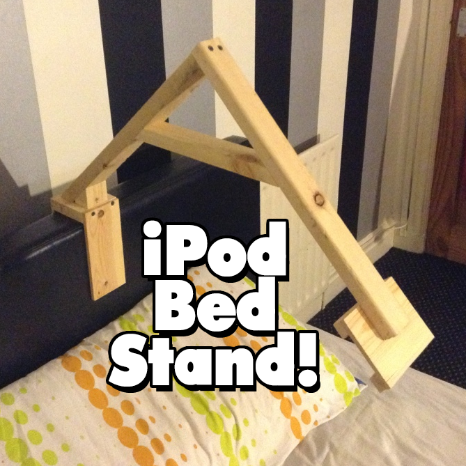 iPod Bed Stand