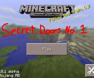 Minecraft How To: Secret Doors No. 1