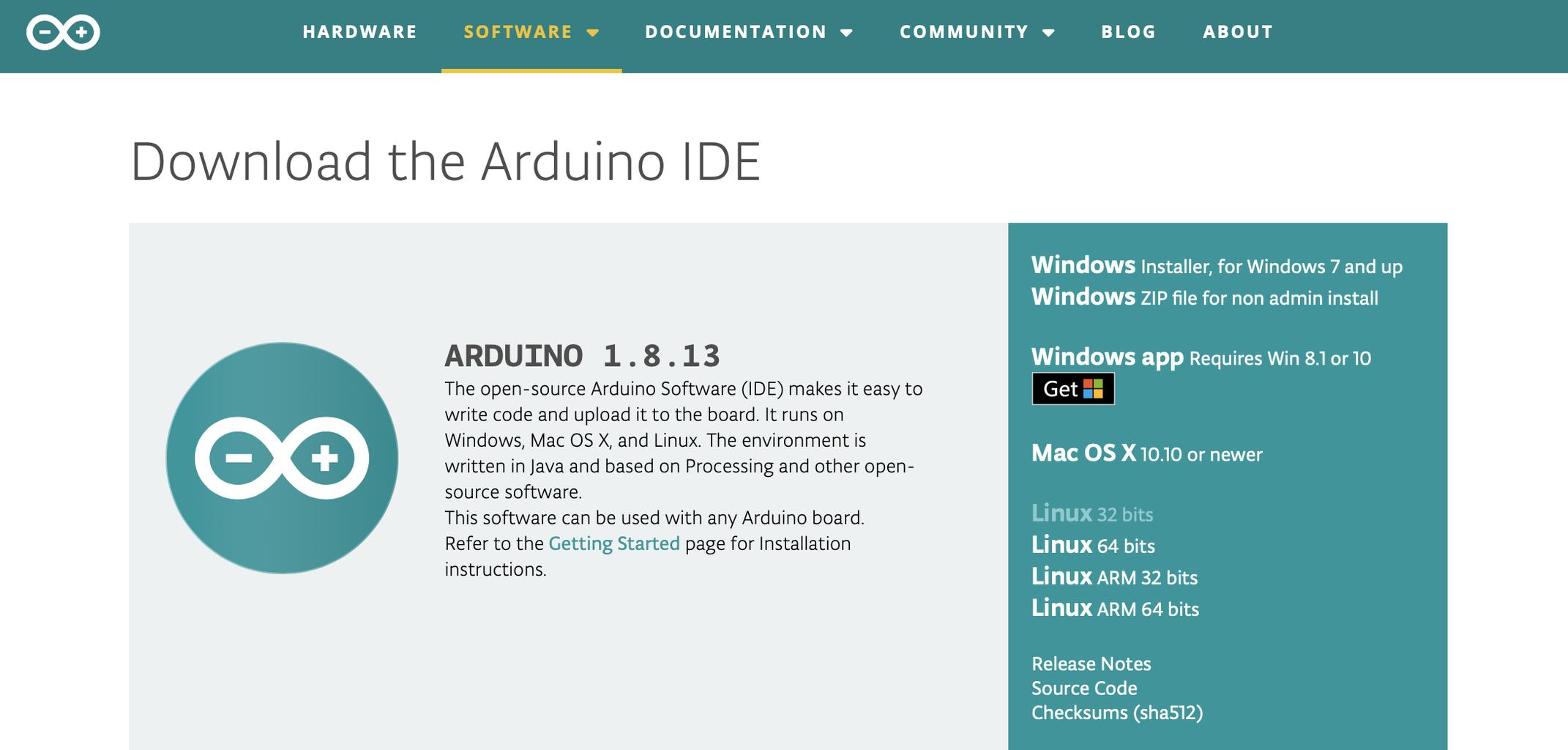 Arduino Software Set Up